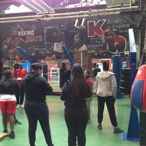 Boxing in English
