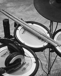 Eletrônica Drum Set