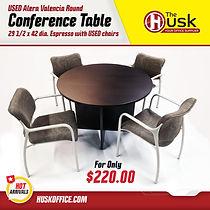 HOT ARR Round espresso table.jpg