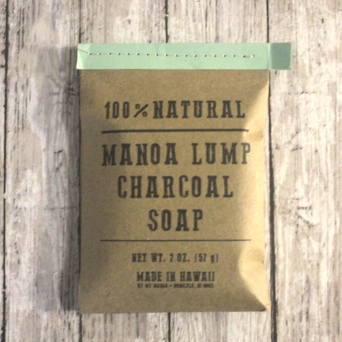 Charcoal + Peppermint Soap 2 oz. by My Manoa