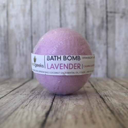 Lavender Bath Bomb by SeedGeeks
