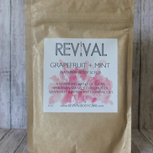 Grapefruit and Mint Body Scrub by Revival