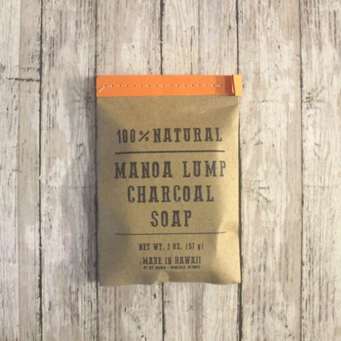 Charcoal + Tea Tree Soap 2 oz.  by My Manoa