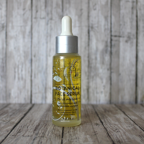 Botanical Facial Serum with Hyaluronic Acid by The Laughing