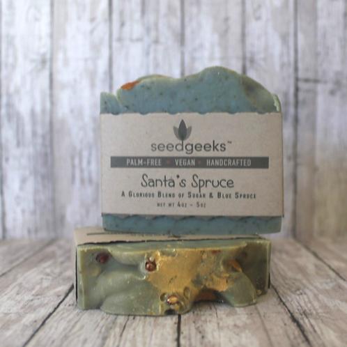Santa's Spruce Soap by SeedGeeks
