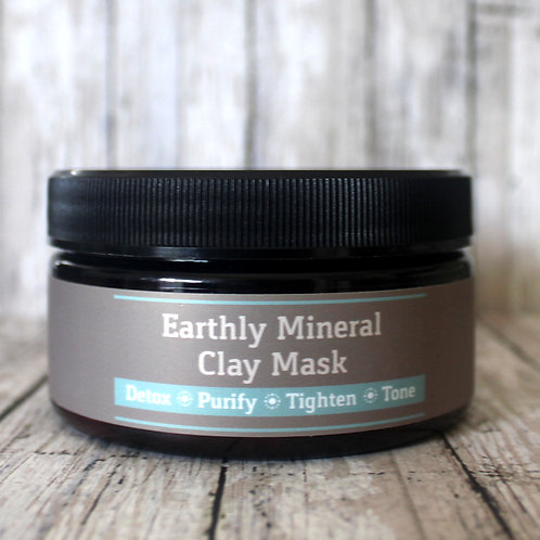 Earthly Mineral Clay Mask