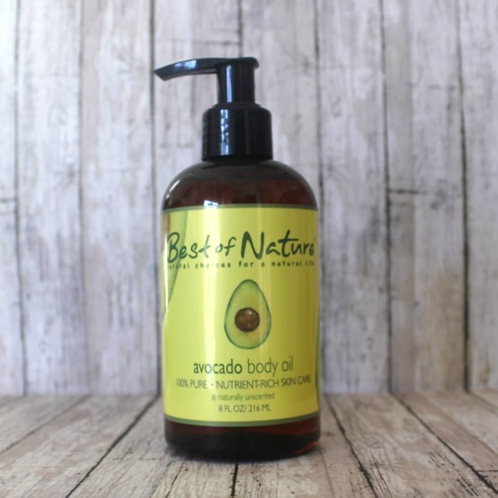 Avocado Body Oil by Best of Nature