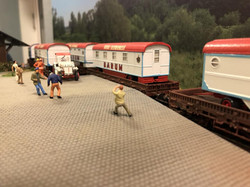 Circus Barum Bahnverladung