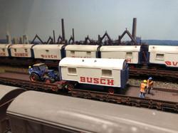 Circus Busch Bahnverladung