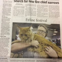 We made the Sunday paper!