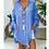 Thumbnail: Cotton Women's Shirt 5XL Plus Size Long Sleeve Blouse  Beach Style Women Autumn
