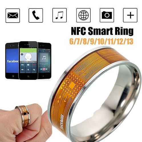 Smart Ring Multifunctional Stainless Steel Waterproof Intelligent Digital