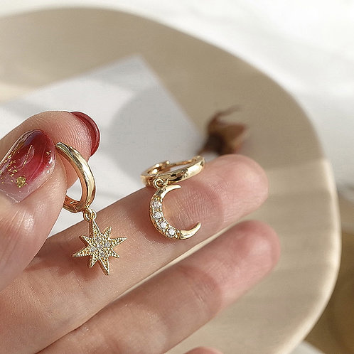 Fashion Hot Selling Gold Color Stainless Steel Jewelry Vintage Pave Zircon