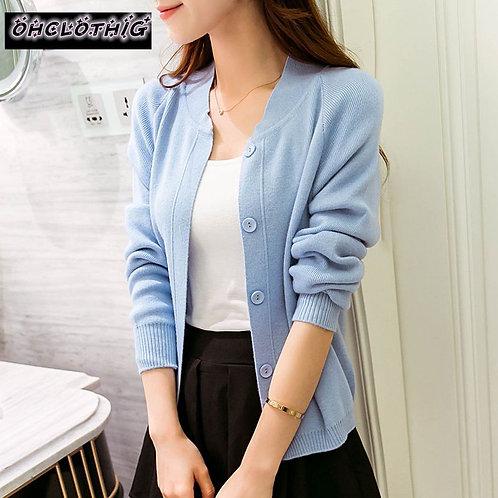 Dress Sweater 2021 New Spring Autumn Winter Jacket Coat Primer Cardigan