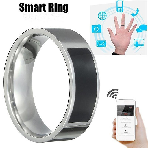 Finger Digital Ring Smart Wear Connect Phone Magic Ring Fashion Jewelry Rings