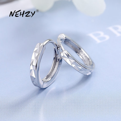Sterling Silver 2021 New Women's Fashion Jewelry High Quality Earrings Simple