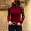 Thumbnail: Women Knitted Sweater Casual Soft O-Neck Jumper Fashion Slim Lace Hollow Out