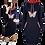 Thumbnail: Butterfly Plus Size Pocket Bodycon Dresses Vintage  Mini Black Dress