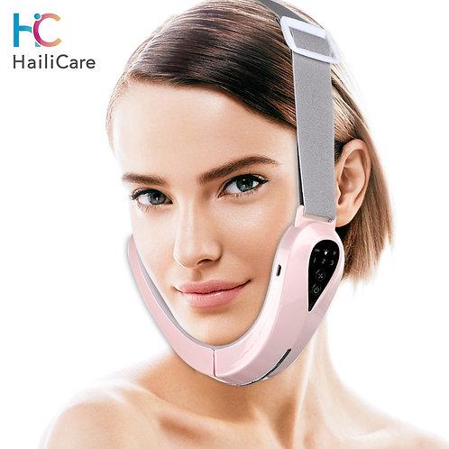 Facial Lift Up Belt Lift Belt Red Face Slimming Vibration Massager Face Liftin