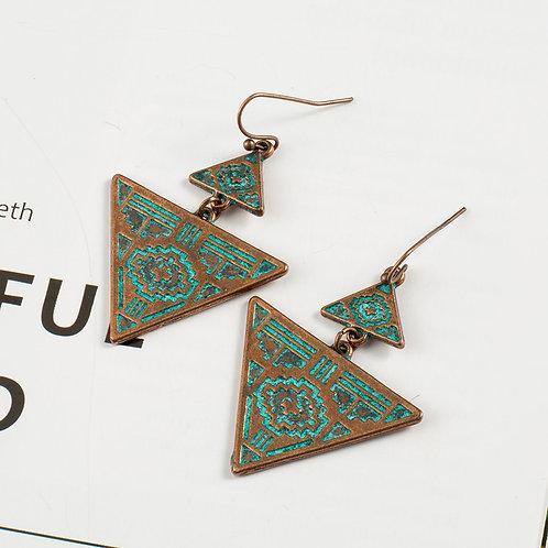 Dangle Hanging Drop Earrings for Women 2018 New Women Vintage Ear Jewelry