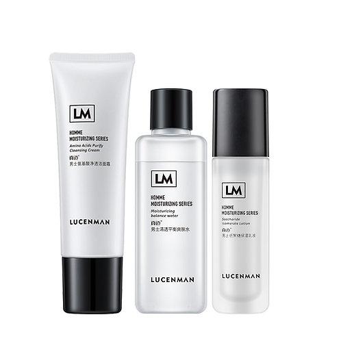 Moisturizing Anti Aging Anti Acne Men Facial Label Men Skin Care Set Products