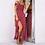 Thumbnail: Sexy Beach Summer Dress Vintage Maxi Dress Robe Femme Split Long Dresses Vestido