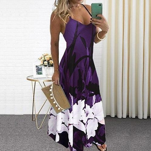 Sexy v Neck Sling Dress