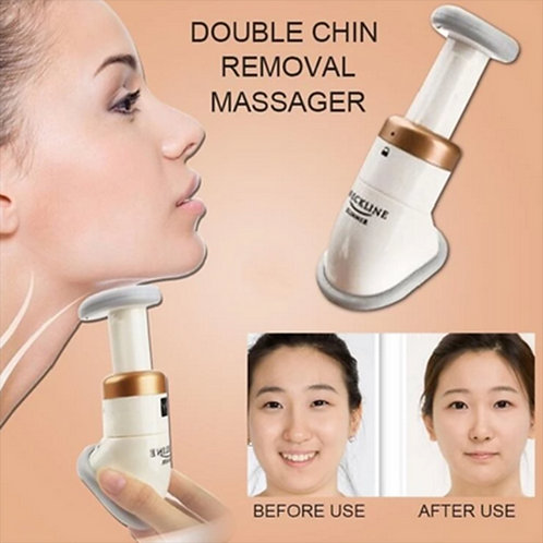 Double Chin Removal Beauty Device Chin Neck Wrinkle Jaw Massager Face Lift Tool