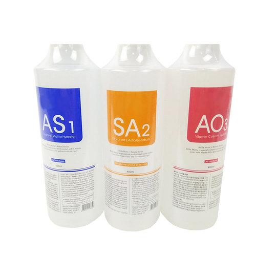 Peel Solution 400ml AS1 SA2 AO3 Facial Serum for H2 Aqua Peel Beauty Machine