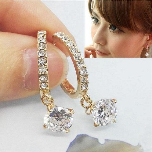 Korean Earrings Version Jewelry Valentine's Day Gift Fashion Luxury Full