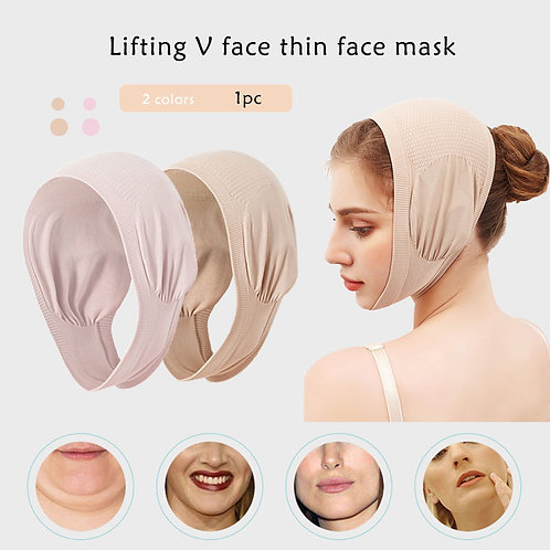 Lifting Double Chin Sleep Beauty Face Strap for V-Line Facial Bandage Hot Sale