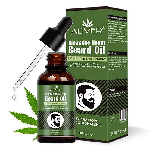 Beard Oil Grow Beard Thicker & More Full Thicken Men Hair Grooming Treatment