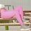 Thumbnail: High Waist Push Up Legging Fashion Solid Color Bodybuilding Jeggings Women Pants