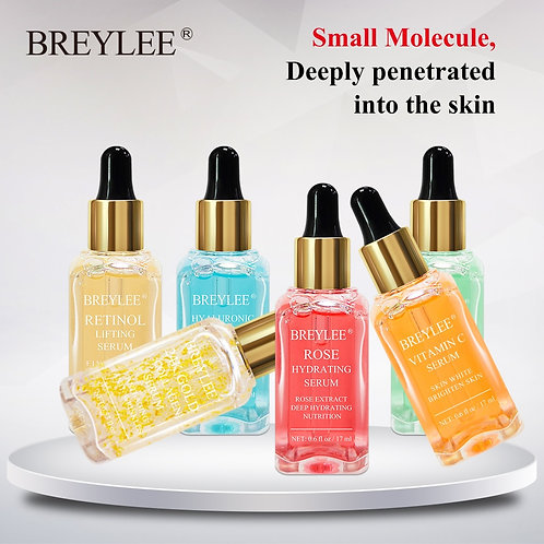 Serum Acid Vitamin C Face Skin Care Rose 24k Gold Firm Soothing Repair Essence