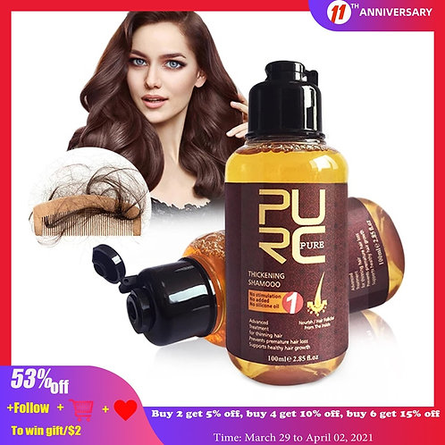 Herbal Ginseng Hair Care Essence Treatment for Hair Loss Help
