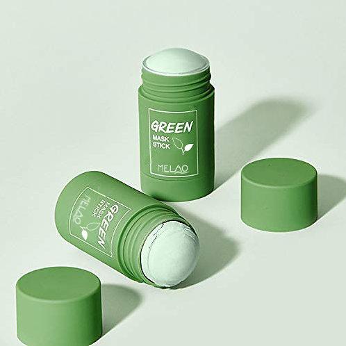 Oil Control Beauty Cream Green Clay Mask Stick Skin Tea Mask Clay Stick Face