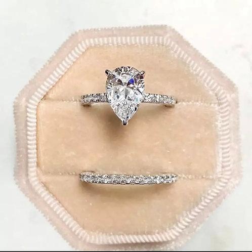2 in 1 gemstone ring
