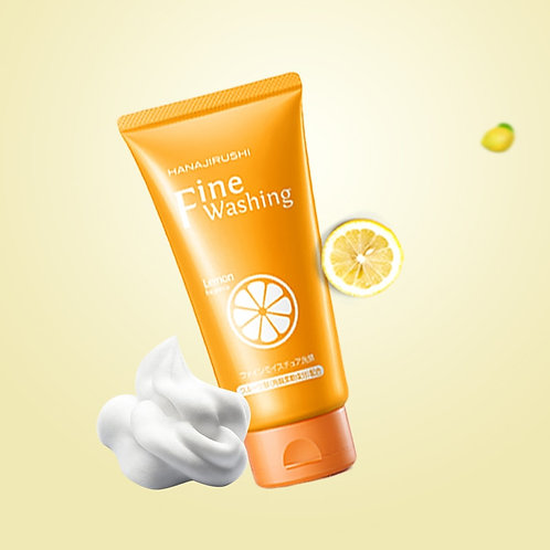Vitamin C Facial Cleanser Face Wash Skin Care Deep Cleansing Pores Care 120g