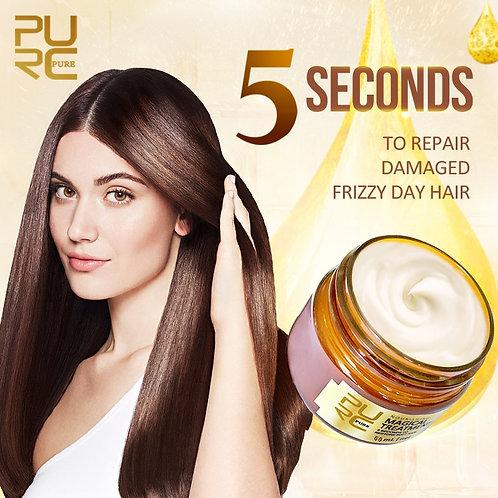 Magical Hair Mask 5 Seconds Repairs Frizzy Make Hair Soft Smooth Deep Repair