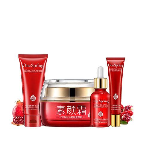 Set Facial Essence Deeply Oil Control Face Sreum Shrink Pores Skin Care