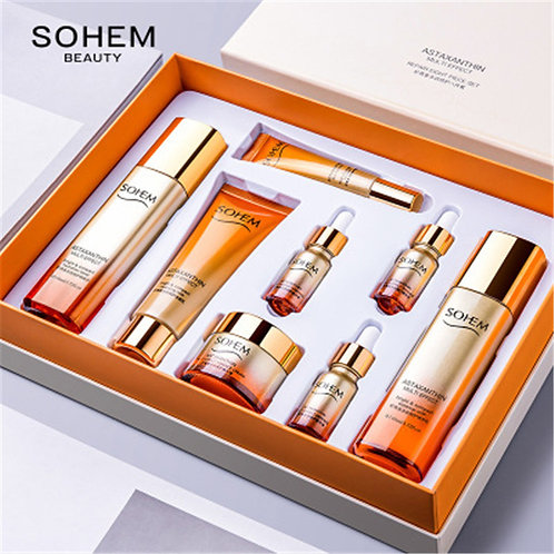 New Products 8pcs Multi-Effect Repair Set Non-Greasy Skin Care Facial Set
