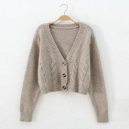 Coat Women's Autumn Winter Sweater Cardigan Femme Chandails Pull Hiver