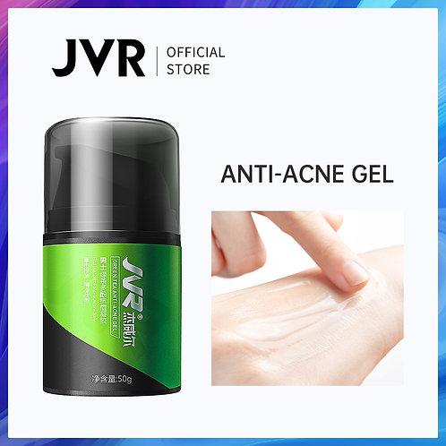 JVR 50g Acne Treatment Face Cream Gel Green Tea Anti Acne Cream for Face Scar