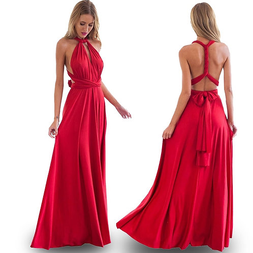 Bridesmaid Long Sister Group Dress Bride  Many Kinds of  Dinner Dress Gowns