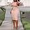 Thumbnail: Large Size XL-5XL Sudress  Women's Dress O-Neck  Sleeve Slim Party Short Dress