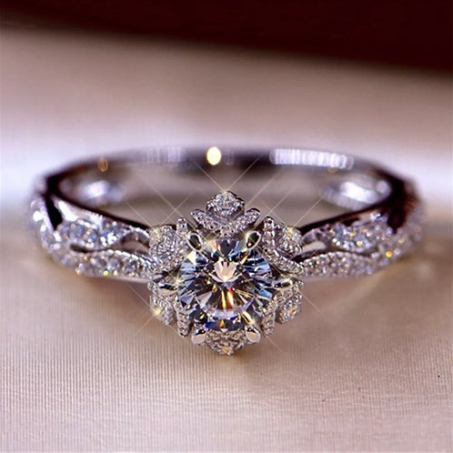 Hollow Out Flower Ring