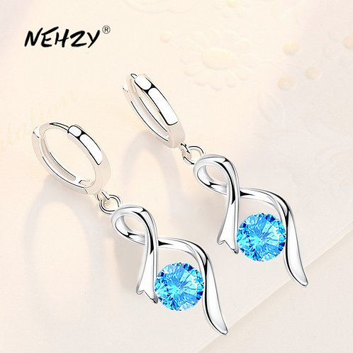 925 Sterling Silver 2021 New Women's Fashion Jewelry High Quality Simple Heart