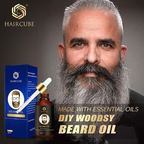 Men Fast Beard Growth Oil Natural Beard Growth Oil  Conditioner Beard