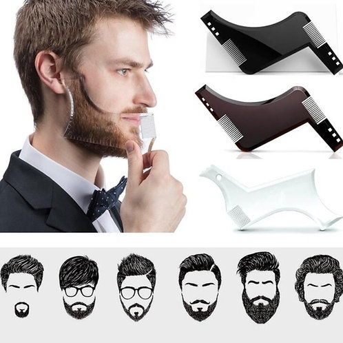 Double Sided Beard Shaping Comb Hair Removal Razor Tool