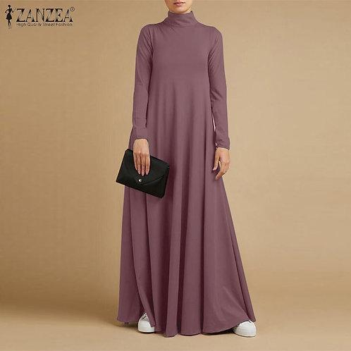 Sundress Fashion Women Maxi Long Dress Baggy Vestido Kaftan Robe Femme
